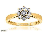 Кольцо с бриллиантом, DR5980