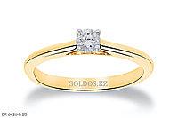 Кольцо с бриллиантом, DR6426