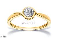 Кольцо с бриллиантом, DR6563