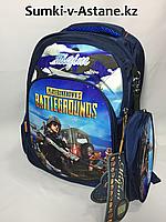 Школьный рюкзак для мальчика в 1-2-й класс.Высота 35 см, ширина 26 см, глубина 13 см., фото 1
