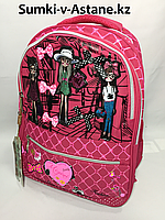 Школьный рюкзак для девочек в 3-4-й класс.Высота 38 см,ширина 29 см,глубина 16 см.