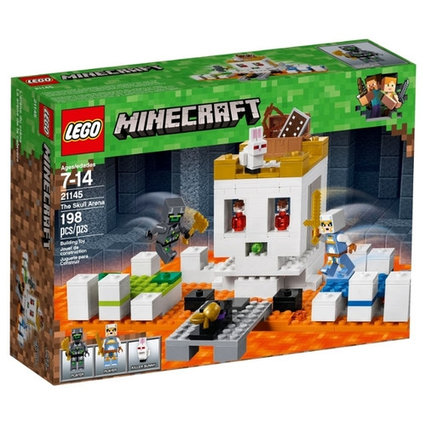 "Конструктор LEGO Minecraft "" Арена-череп"""