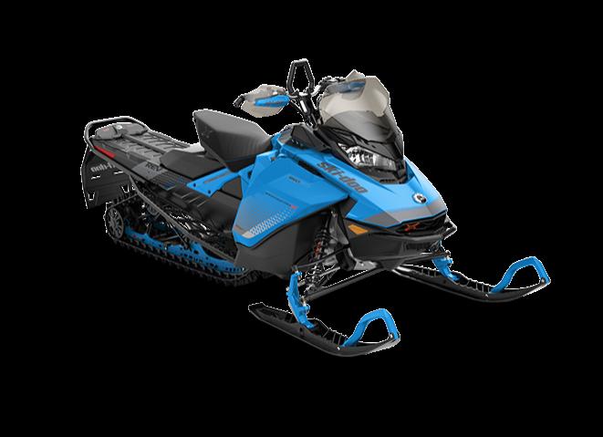 Снегоход Backcountry X 850 E-TEC 146″ черно-синий 2019