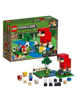 "Конструктор LEGO Minecraft ""Шерстяная ферма"""