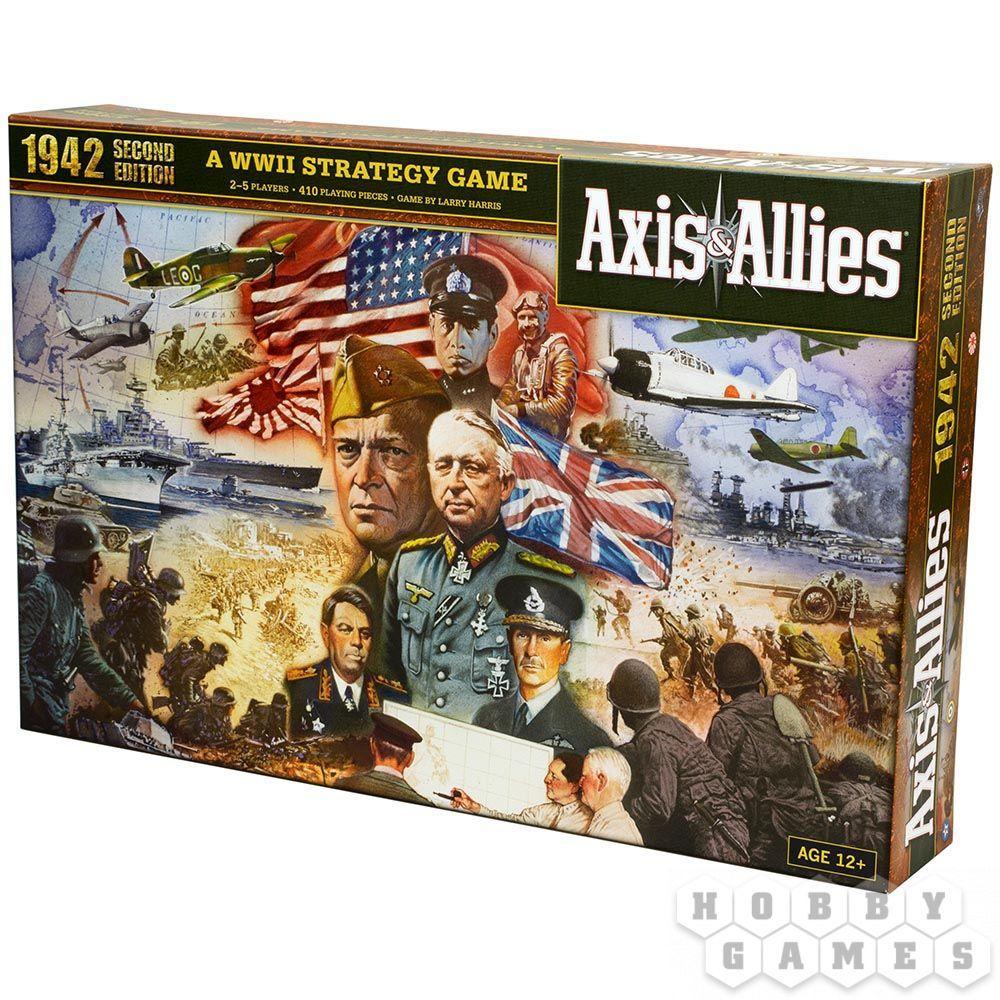 Настольная игра: Axis&Allies: Вторая Мировая. 1942