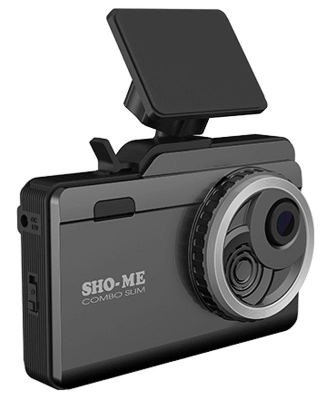 Видеорегистратор SHO-ME Combo Slim, GPS - фото 1
