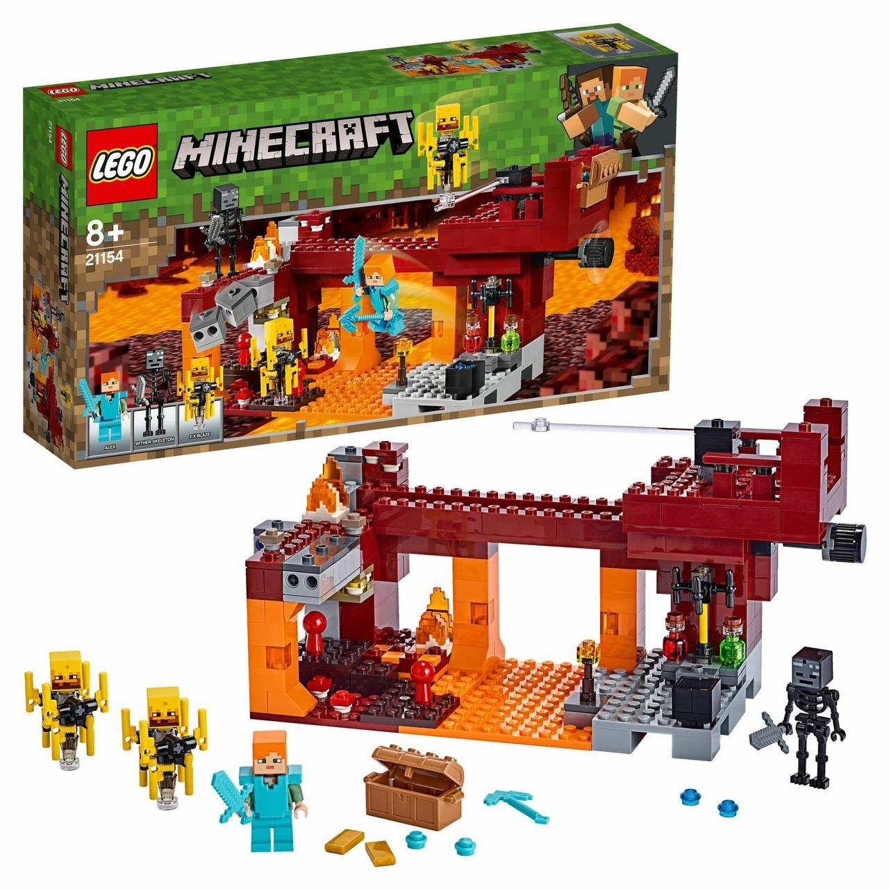 "Конструктор LEGO Minecraft ""Мост ифрита"""
