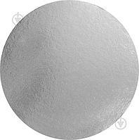 Подложка под торт Белый/Серебро 26 см 0,8 мм