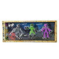 Stikbot Игрушка 3 фигурки Off the Grid Raptus TST614R
