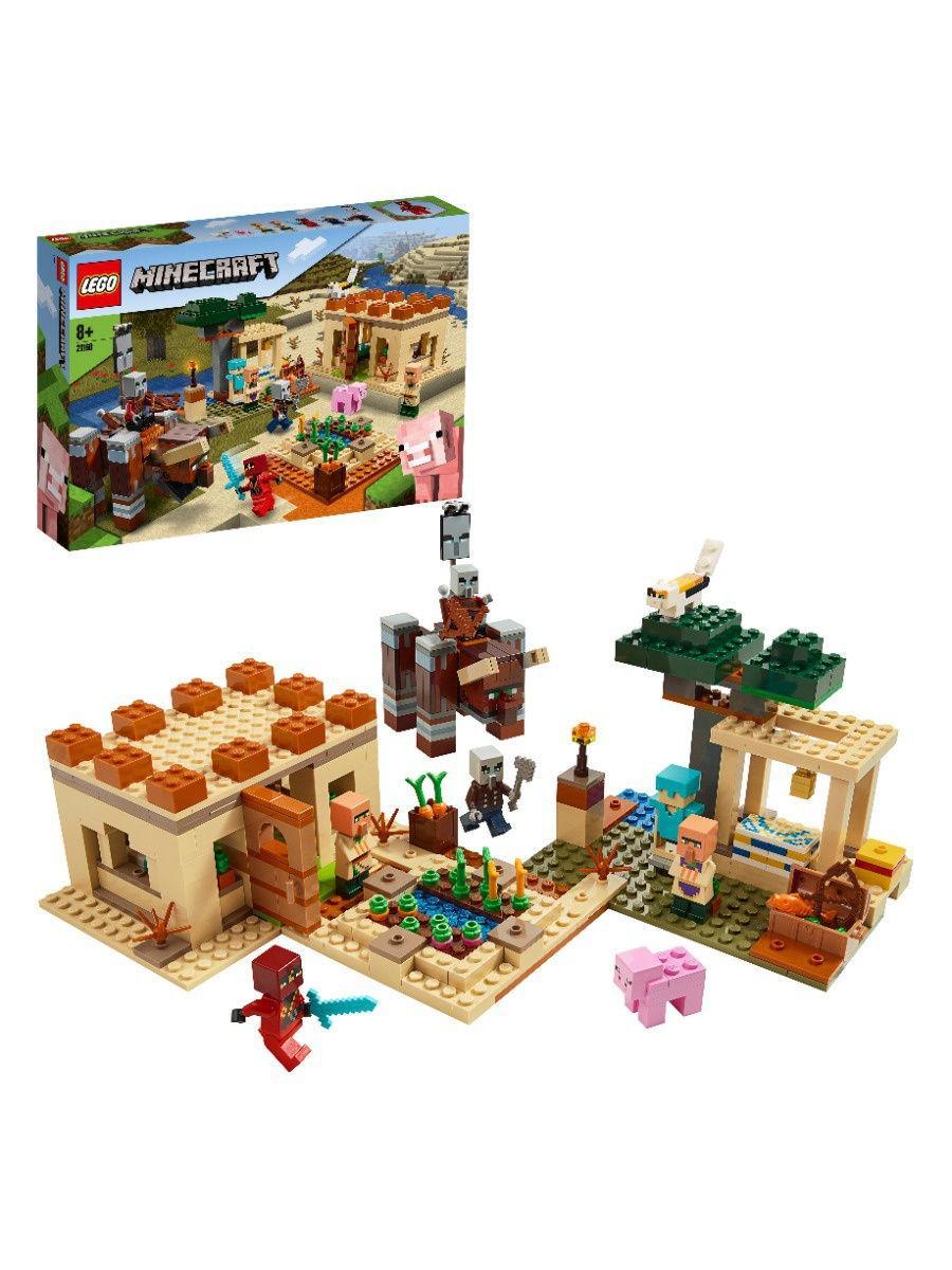 """Конструктор LEGO Minecraft """"Патруль разбойников"""""""