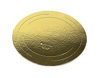 Подложка под торт Золото 26 см 2,5 мм
