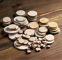 Набор для творчества «Эко-2»: срезы осины, можжевельника, кедра, берёзы, ольхи., фото 1