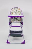 Стульчик для кормления Selby 252 Совы Фиолетовый