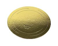 Подложка под торт Золото 40 см 2,5 мм