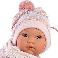 Кукла Llorens малышка 30 см с конвертом-переноской 30006