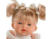 Кукла Llorens малышка Роберта 33 см, блондинка в розовой курточке 33296