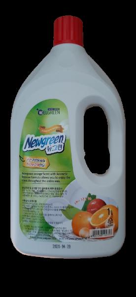 "NEW GREEN DISHWASHING DETERGENT – Гель для мытья посуды ""Апельсин"" 1кг."