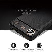 Внешний аккумулятор Remax Power Bank Kooker Series 20000 mah Black, фото 1