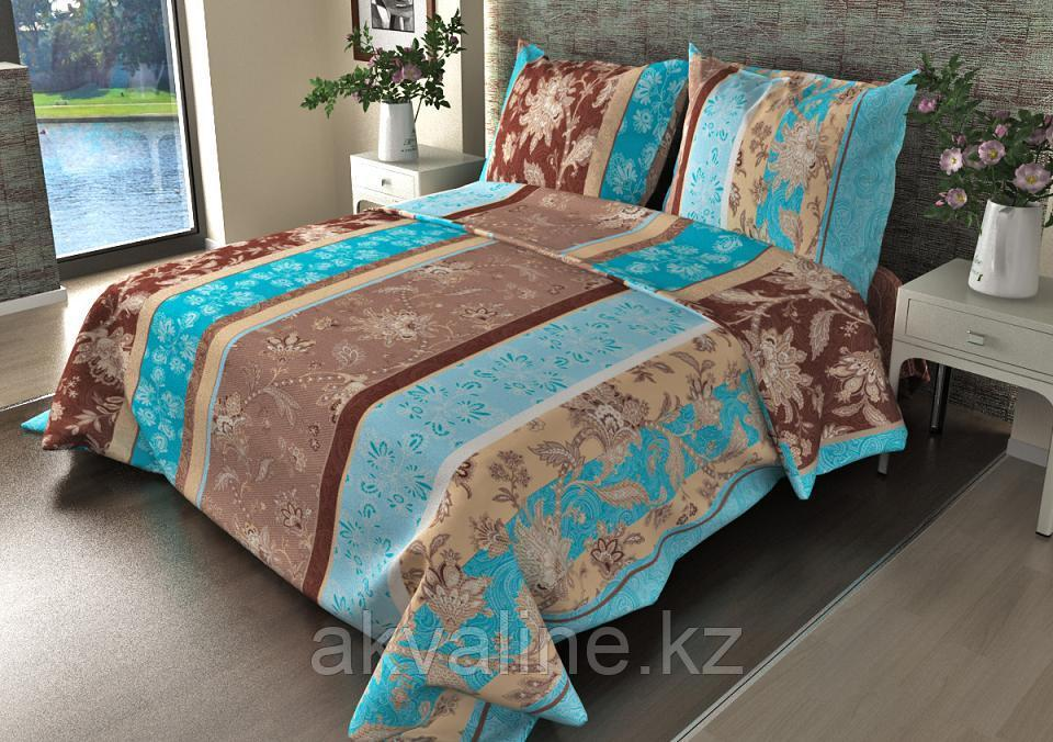 Постельное белье 304-1 Ажур голубой «Астра»