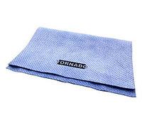 Искусственная замша перфорированная TORNADO, синяя, 50х37 см.