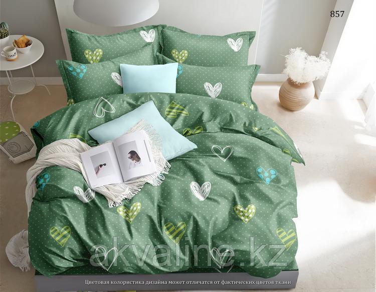 Постельное белье Зеленые сердца 857 «Астра»