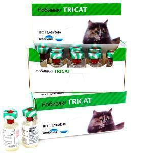 Вакцина Нобивак Tricat Trio, доза, фото 2