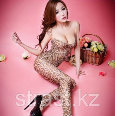 Сексуальный леопардовый комбинезон