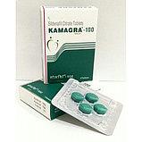 КАМAGRA-100 GOLD (СИЛДЕНАФИЛ ЦИТРАТ) ТАБЛЕТКИ ДЛЯ ПОТЕНЦИИ 4 ТАБ. ПО 100 МГ, фото 3