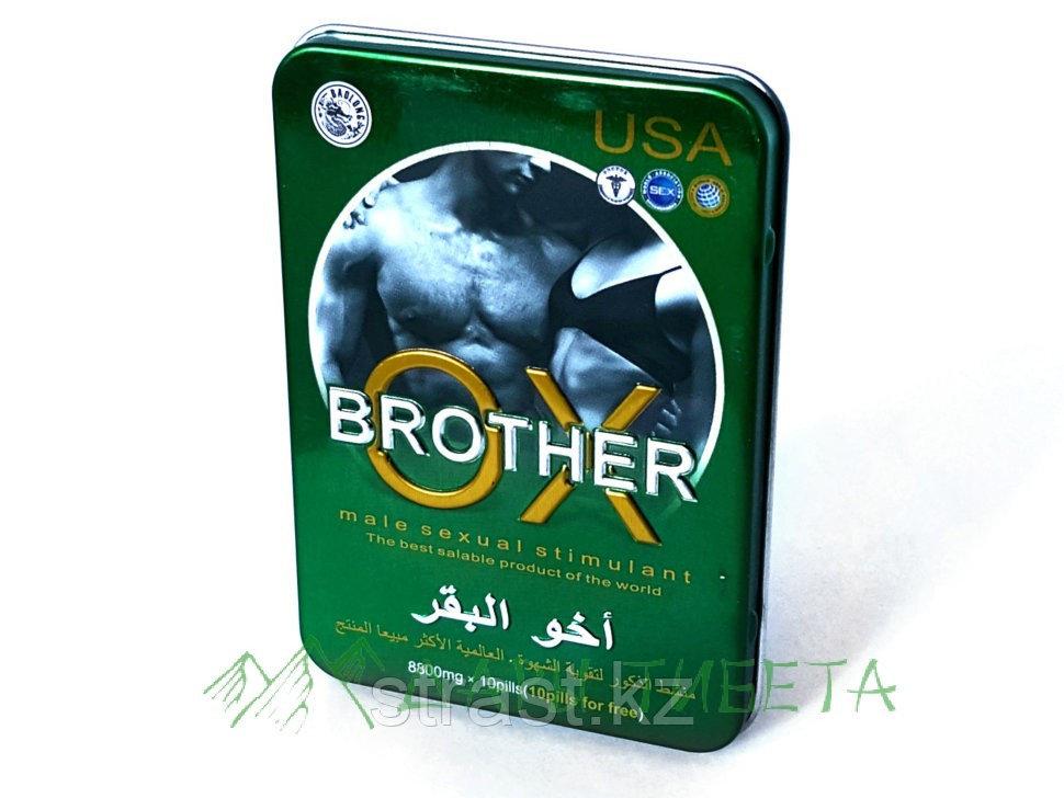 Стимулятор потенции Brother OX для мужчин 10 таб.
