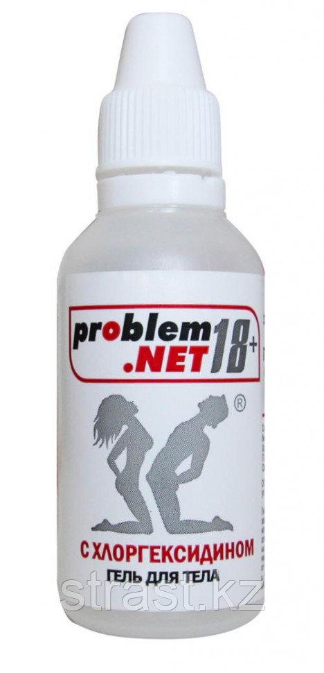 "Лосьон-гель для тела ""PROBLEM.NET 18+"" флакон-капельница, 30 г"