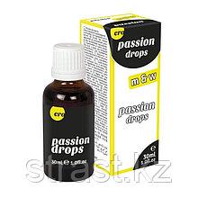 Возбудитель для мужчин и женщин Passion Drops 30 мл