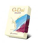 Шоколад темный G-Dai женский 15г, фото 3