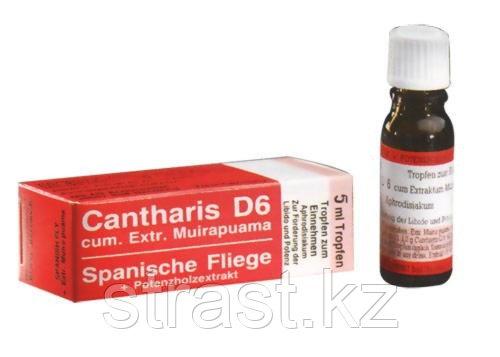 Возбуждающие капли для двоих Cantharis D6, 5 мл