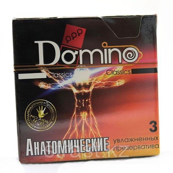 Презервативы Domino Classics Анатомические (в уп.3 шт)