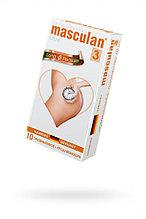 Презервативы ребристые с анестетиком Masculan Ultra Long Pleasure 3 (в уп.10 шт, цена за штуку)