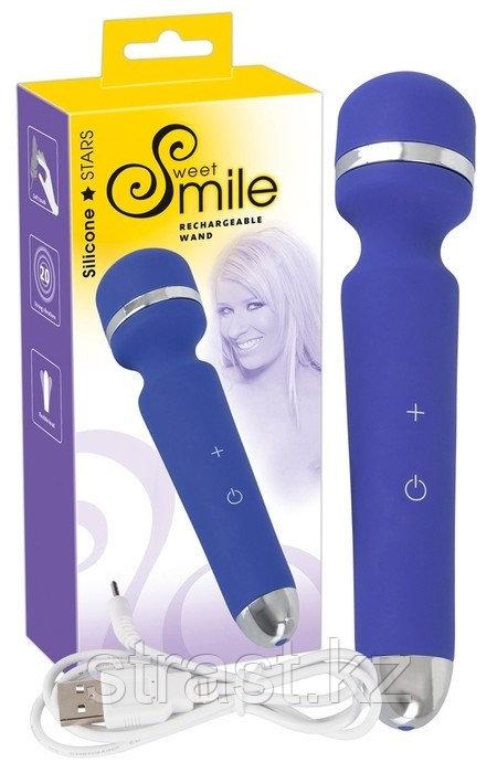 Sweet Smile Вибромассажер синий