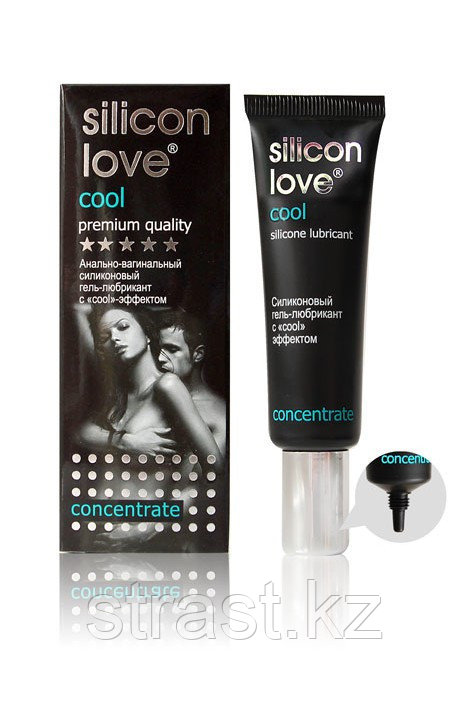 Гель-лубрикант силиконовый Silicon Love Cool охлаждающий,  30 г