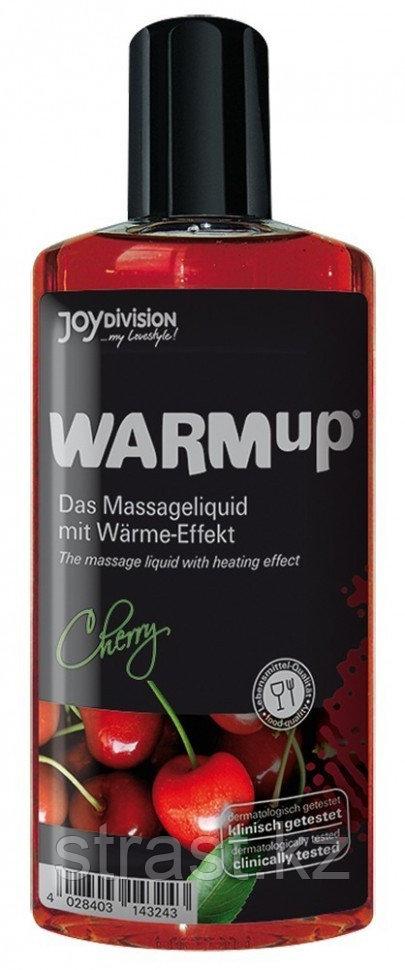 JoyDivision WARMup Вишня 150мл Съедобный разогревающий массажный гель