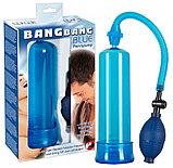 Помпа для пениса Bang Bang синяя, фото 2
