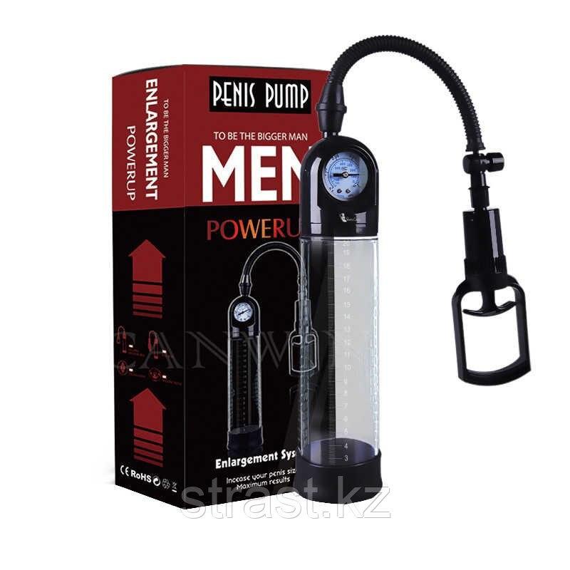 Помпа с манометром Baile Penis Pump