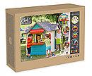 Домик детский для улицы 3 в 1: садовый домик, ресторан и магазин 810403 Smoby, фото 2