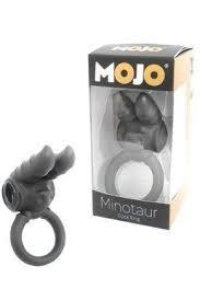 Виброкольцо Mojo Minotaur Black, черное
