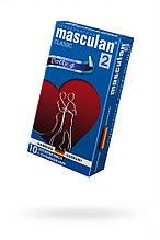 Презервативы с пупырышками Masculan Classic 2 Dotty (в уп. 3 шт, цена за штуку)