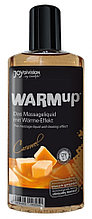 Массажный гель разогревающий съедобный Joy Division WARMup Карамель, 150 мл