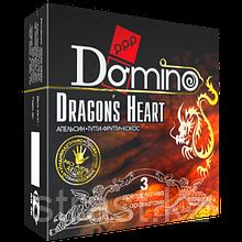 Презервативы ароматизированные Domino Dragon's Heart (кокос, тутти-фрутти, апельсин) 3 шт