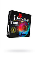 Презервативы ароматизированные Domino Premium Karma (жожоба, сандал, роза, в уп. 3 шт)