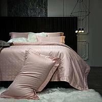 Комплект постельного белья двуспальный DIOR однотонное жаккард LUX