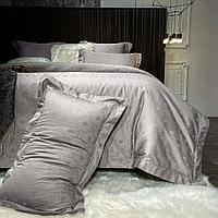 Комплект постельного белья двуспальный GUCCI однотонное жаккард LUX