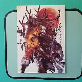 Постер с алмазной ламинацией Ведьмак 3 - Дикая Охота