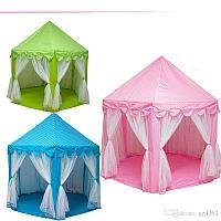 Шатер игровой домашний/уличный Prince Princess castle tent